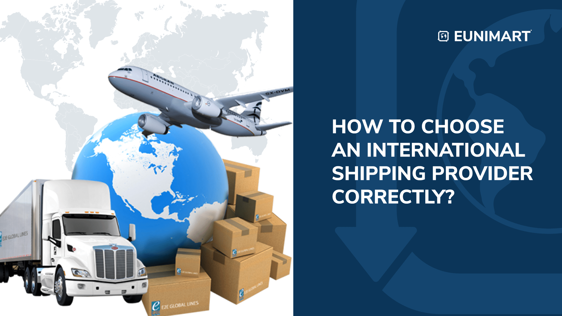 How to Choose an International Shipping Provider Correctly?