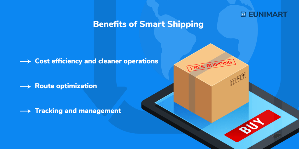 Benefits of smart shipping